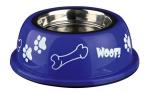 Trixie - миска Трикси для собак из нержавеющей стали с пластмассовым футляром
