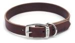 Coastal - Коастал Latigo Leather Town Collar Ошейник кожаный коричневый (02103; 02104; 02106; 02108)