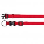 Trixie - Трикси Ошейник для собак нейлоновый, цвет красный 35-55/20 мм