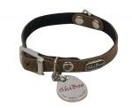 ShiBoo Suede-10 - ошейник ШиБу Замш-10 для собак (218)