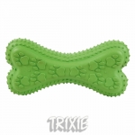 Trixie - кость резиновая Трикси с пищалкой