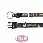 Trixie Dog Pirates - ошейник Трикси, кожзам, черный