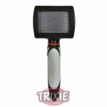 Trixie Soft Brush - пуходерка для длинношерстных кошек Трикси