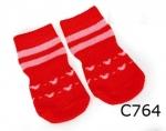 Camon - носки Камон 4шт, красные (C764/A,C764/B,C764/C,C764/D,C764/E)