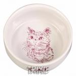 Trixie - миска фарфоровая Трикси для кошек