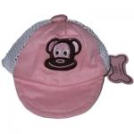 Monkey Daze Pink Hat - бейсболка Манки Дазе розовая для собак