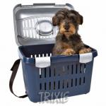 Trixie Midi Capri - переноска Трикси Миди-Капри сине-серебряная для собак