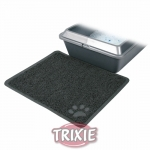 Trixie - коврик Трикси под туалет для кота, серый с лапой