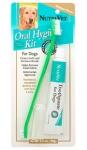 Nutri-Vet Oral Hygiene Kit - набор Нутри-Вет для гигиены пасти (зубная паста и щетка) (87491)