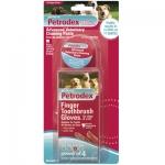 Sentry - адгезивная зубная паста Сентри для собак и котов, 5 перчаток в комплекте (10425)