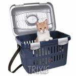 Trixie - переноска Трикси Миди-Капри сине-серебрянная (3979)