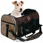 Trixie - сумка Трикси для собак нейлон, коричнево-бежевая (28872)