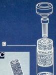 Hydor Cristal K 10 - фильтрующий материал Хайдор (губка) (12674)