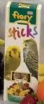Fiory Sticks - лакомство Фиори с бананом для волнистых попугаев, 60 г. (2575)