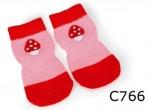 Camon - носки Камон 4шт, розовые (C766/B,C766/D,C766/E)