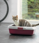 Savic Aristos Tray - туалет Савик для кошек с бортиком средний