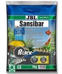 JBL Sansibar - песок для аквариума Джей  Би Эл черный (0,2-0,5мм), 10кг