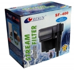 Resun ClearMax SF-400 - навесной фильтр Ресан, 360 л/ч, для аквариума до-60 л