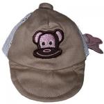 Monkey Daze Tan Hat - бейсболка Манки Дазе бежевая для собак